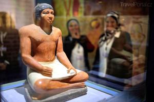 nové muzeum na letišti v Káhiře