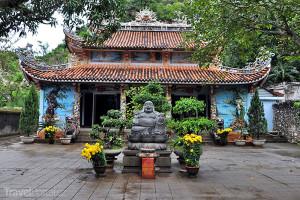 Buddhistická pagoda v Mramorových horách