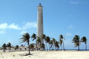 maják na ostrůvku Cayo Sabinal