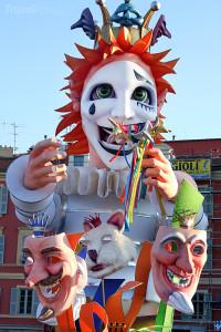 Carnival Parade v Nice