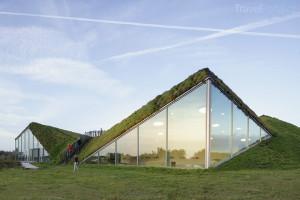 muzeum v parku Biesbosch