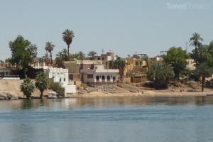 núbijská vesnice