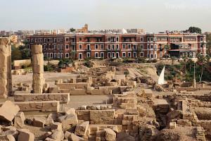 vykopávky Asuán