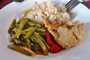 jídlo v Laosu