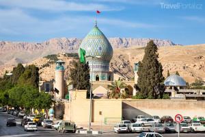 město Shiraz