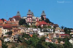 hlavní město Antananarivo