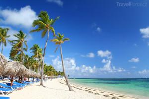 pláž na ostrově Jamajka