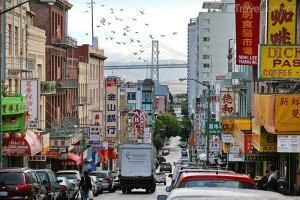 Čínská čtvrť v San Francisku