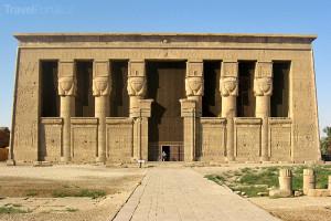 chrám bohyně Hathor