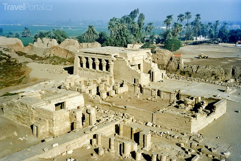 chrám v Dendeře