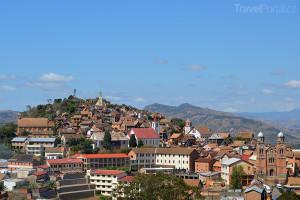 město Fianarantsoa