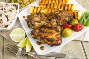 kuře po karibsku