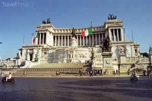 Kapitol a socha císaře Marca Aurelia
