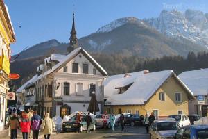 lyžování ve Slovinsku - Kranjska Gora