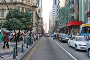 ulice v Macau