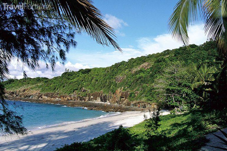 pláž na Madagaskaru