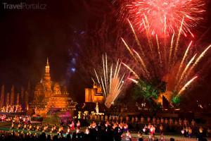 slavnost ve Wat Mahathat