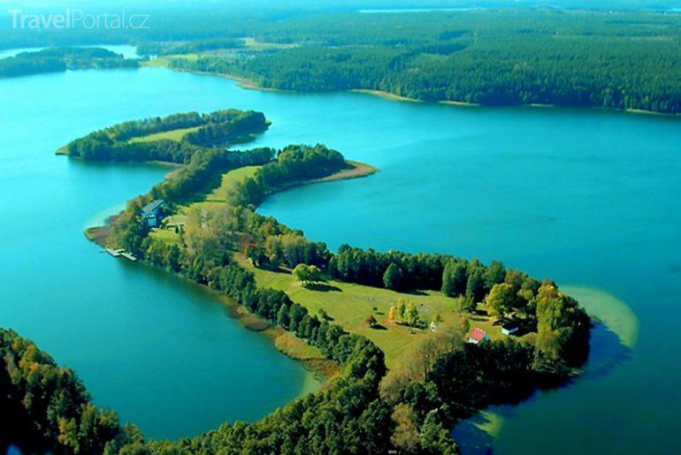 Velká mazurské jezera