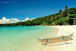 pláž na ostrově Mindanao