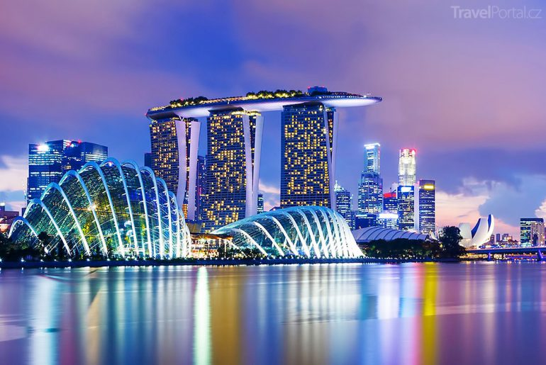 moderní architektura Singapuru