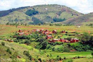 venkov na Madagaskaru