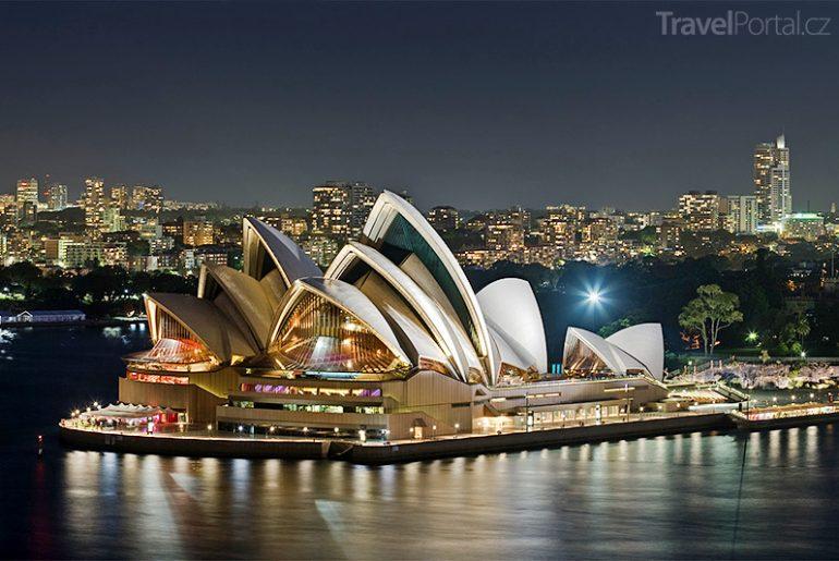 australské památky a stavby - Opera v Sydney