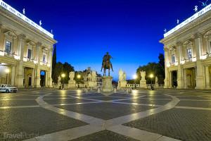 náměstí Piazza del Campidoglio
