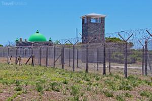 strážní věž na Robben Island