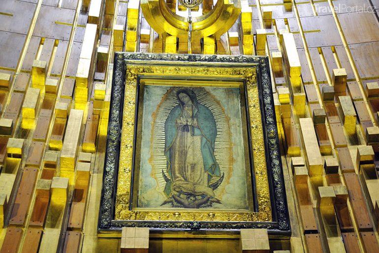 obraz Panny Marie Guadalupské