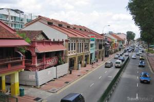 čínská čtvrť v Singapuru
