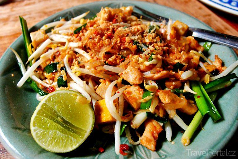 thajské nudle Phad Thai