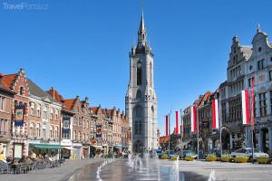 strážní věž Beffroi v Tournai