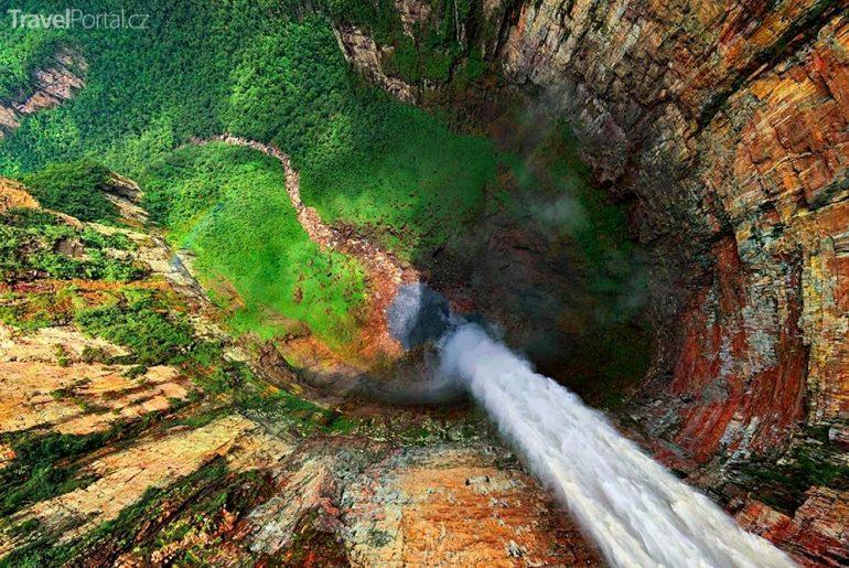 Andělské vodopády