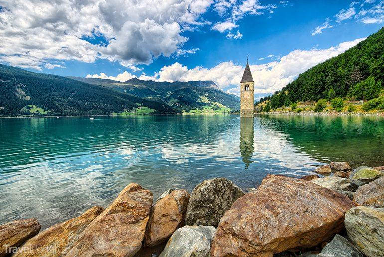 jezero Lago di Resia