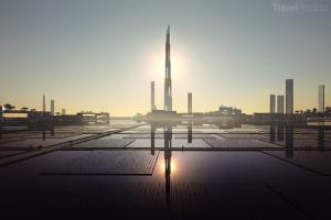 mrakodrap Sky Mile Tower vizualizace