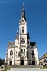 kostel ve městě Kőszeg