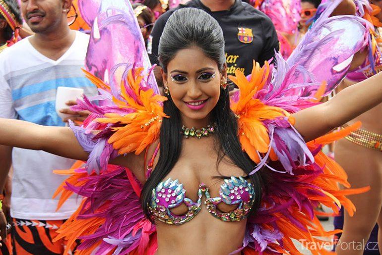 karneval v Trinidadu