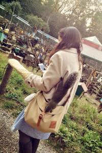 návštěvnice Squirrel Garden