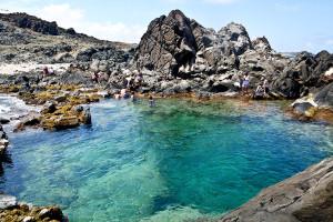 Natural Pool na Arubě