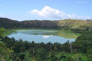 jezero na Mayotte