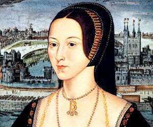 královna Anna Boleynová