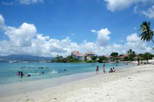 pláž Anse Mitan