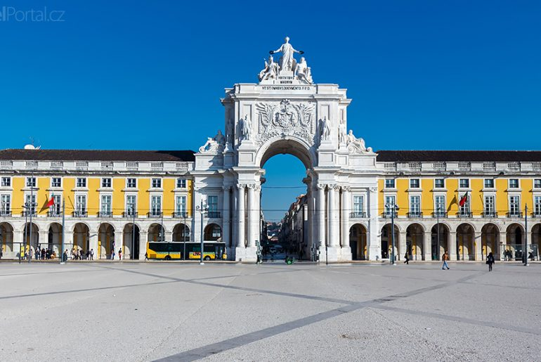 Vítězný oblouk v Lisabonu