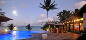 Cookovy ostrovy večer