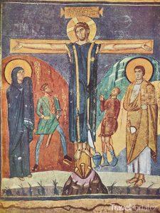 fresky v kostele Santa Maria Antiqua