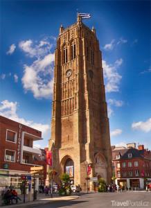 zvonice Saint-Eloi v Dunkerque