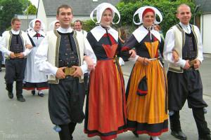 tradiční francouzská móda na venkově