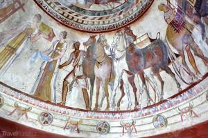 fresky v Kazanlaku