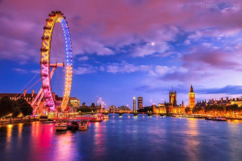 Velikonoce 2016 v Londýně