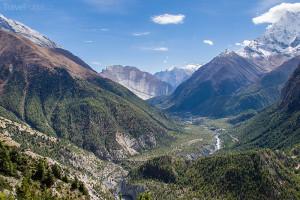 údolí řeky Marsyangdi